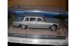 модель 1/43 Mercedes Benz 600 W100, James Bond 'On her majesty's secret service' Universal Hobbies металл, масштабная модель, 1:43, Mercedes-Benz