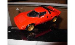 модель 1/43 Lancia Stratos DelPrado металл, масштабная модель, 1:43, Del Prado (серия Городские автомобили)