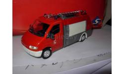 модель пожарного автомобиля 1/50 Renault Master Neufoca Solido Toner Gum II France металл