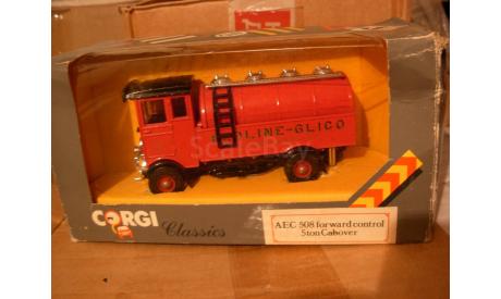 модель грузовика AEC 508 forward control 5 ton Cabover Redline-Glico Corgi Classics 1:43, масштабная модель, scale43, ARC