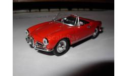 модель 1/43 Alfa Romeo Giulietta Spyder DelPrado металл