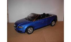 модель 1/18 Audi A4 3.0 Cabriolet Welly металл 1:18, масштабная модель