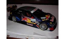 1/18 гоночная модель Audi A4 Red Bull DTM 2008 #1 Ekstrom Norev металл