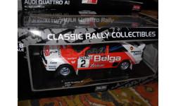 гоночная модель 1/18 AUDI Quattro A1 #2 M.Duez/W.Lux -Winner Rally Rallie Boucles de Spa 1983 РаллиSun Star металл, масштабная модель, 1:18, Sunstar
