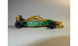 модель F1 Формулы-1 1/43 Benetton Ford B1 92 1992 #20 Martin Brundle Minichamps/PMA металл 1:43, масштабная модель