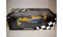 модель F1 Формула 1 1/18 Benetton Ford B191B 1992 Camel #19 Michael Schumacher Minichamps/PMA металл 1:18, масштабная модель, scale18