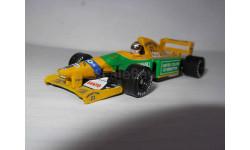 модель F1 Формула 1 1/64 Benetton Ford B192 19 Schumacher Micro Champs/Minichamps/PMA металл, масштабная модель, scale64