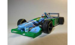 модель F1 Формулы 1 1/43 Benetton Ford B194 1994 #6 Jos Verstappen Minichamps/PMA металл 1:43, масштабная модель