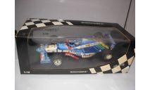 модель F1 Формула 1 1/18 Benetton Renault B197 1997 #8 G. Berger Minichamps/PMA металл 1:18, масштабная модель, scale18