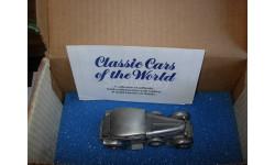 модель-скульптура 1/43 Bentley Six Speed Coupe 1930 Danbury Mint pewter - олово