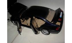 модель 1/18 BMW 3-й серии E46 седан UT Models металл синяя, масштабная модель, 1:18