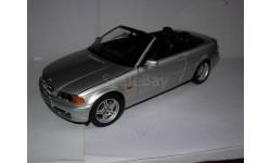 модель 1/18 BMW-328i 3-SERIES E46 Cabrio/кабриолет Kyosho металл 1:18, масштабная модель, scale18