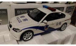 модель 1/18 BMW 330i China Police / 中国警察 / китайская полиция металл 1:18 die-cast model