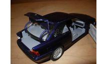 модель 1/24 BMW 325i 3-series E36 Coupe Купе Schuco металл синяя 1:24, масштабная модель