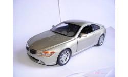 модель 1/18 BMW-6 645Ci Coupe E63 Mattel/Hot Wheels металл 1:18