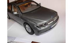 модель 1/18 BMW 745i E65/66 Motormax металл, масштабная модель, 1:18