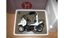 1/10 модель мотороллер/скутер BMW C1 Minichamps Dealer металл 1:10, масштабная модель мотоцикла, scale10