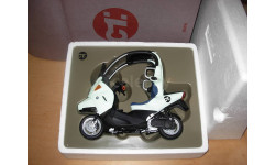 1/10 модель мотороллер/скутер BMW C1 Minichamps Dealer металл 1:10, масштабная модель мотоцикла