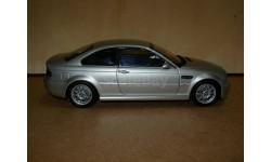 модель 1/18 BMW M3 Coupe Купе  E46  Kyosho металл 1:18