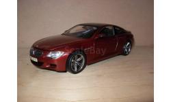 модель 1/18 BMW-M6 E63 Coupe Kyosho металл 1:18