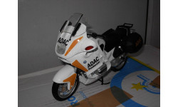 1/10 модель мотоцикл BMW R 1100 RT ADAC touring GUILOY металл 1:10, масштабная модель мотоцикла