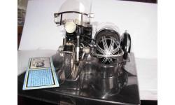 1/10 модель мотоцикл BMW R60-2 1960 с левой коляской Tootsietoy металл БМВ 1:10, масштабная модель мотоцикла