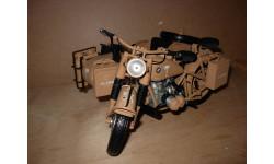 1/10 модель мотоцикл BMW R75 R 75 военный с коляской Schuco металл 1:10 БМВ, масштабная модель мотоцикла