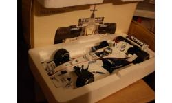 модель F1 Формулы 1 1/18 BMW Sauber F1.06 Launch version 2007 #9 Nick Heifeld Minichamps металл