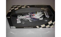 модель F1 Формула 1 1/18 BMW Sauber F1.08 2008 4 Robert Kubica Minichamps/PMA металл 1:18, масштабная модель, scale18