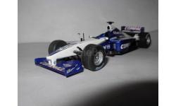 модель F1 Формула-1 1/43 BMW Williams FW22 Launch version 2001 #5 Ralf Schumacher Minichamps/PMA металл 1:43, масштабная модель