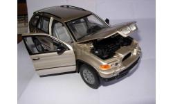 модель 1/20 BMW X5 пластик 1:20