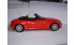 модель 1/18 BMW Z3 -2.8 Roadster Iberica face lifting UT Models металл