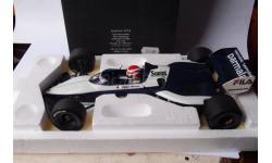 модель F1 Формулы 1 1/18 BRABHAM BMW BT52B 1983 NELSON PIQUET -чемпионский!! Minichamps металл, масштабная модель, 1:18