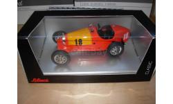 1/20 заводная модель-игрушка гоночный Bugatti 18 Schuco Classic Limited жесть около 1:20, масштабная модель, 1:18, 1/18