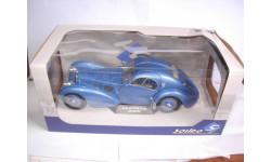 модель 1/18 Bugatti type 57 SC Atlantic Solido металл 1:18, масштабная модель