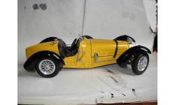 модель 1/18 BUGATTI TYPE 59 1934 Burago металл