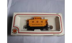 железнодорожный служебный вагон Union Pacific 1/87 H0/HO 16,5mm Bachmann пластик 1:87, железнодорожная модель