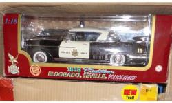 модель 1/18 Cadillac 1958 Eldorado Seville Police Yatming Road Legends металл