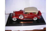 модель 1/18 Cadillac 1932 Sport Phaeton Anson металл 1:18, масштабная модель