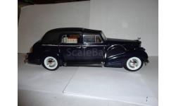 модель 1/18 Cadillac V16 Fleetwood 1938 Signature Models металл 1:18