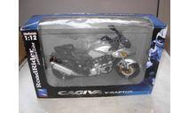 1/12 модель мотоцикл Cagiva V-Raptor NewRay металл 1:12, масштабная модель мотоцикла, New-Ray Toys, DKW, scale12
