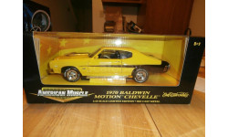 модель 1/18 Chevrolet CHEVELLE BALDWIN MOTION CHEVELLE 454  1970, AMERICAN MUSCLE ERTL металл