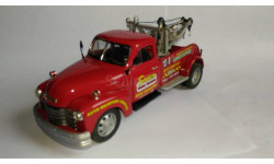модель 1:24 Chevrolet 3800 1953 Pick Up пикап эвакуатор Saico Шевроле металл 1/24