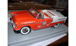 модель 1/18 Chevrolet Bel Air 1955 кабриолет Pace Car Indianapolis ERTL металл, масштабная модель, 1:18