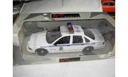 модель 1/18 Chevrolet Caprice Brossard Police Canada полиция 21023 UT 1:18, масштабная модель, UT Models