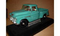 модель 1/18 пикап Pick-up Chevrolet Chevy 3100 1955 Stepside ERTL металл 1:18, масштабная модель, ERTL (Auto World)
