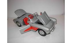 модель 1/18 Chevrolet Corvette 1957 Burago металл 1:18, масштабная модель