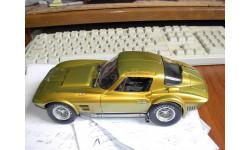 модель 1/18 Chevrolet CORVETTE Coupe 1963 Grand Sport Exoto Standox металл, масштабная модель, 1:18