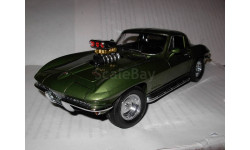 модель 1/18 Chevrolet CORVETTE 1967 STINGRAY STREET MACHINE Exoto металл