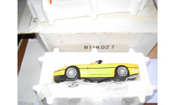 модель 1/24 Chevrolet Corvette С4 1986 Franklin MInt металл 1:24